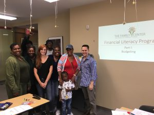 Financial Literacy Brought to TFC Clients by the Leadership Council