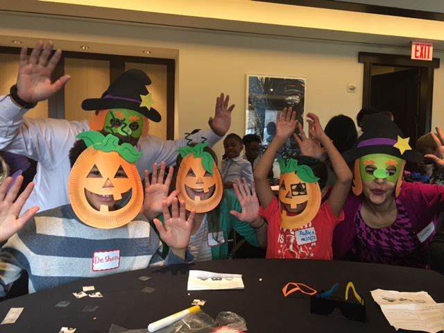 Halloween Arts & Crafts at Credit Suisse