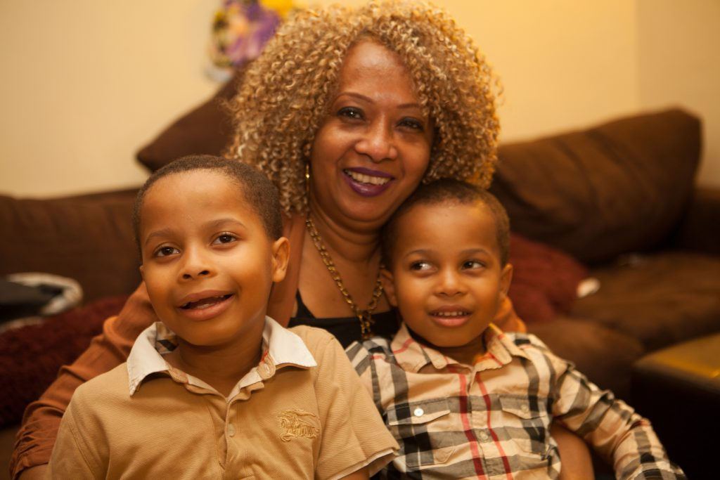 Sharon became caregiver of her two young grandsons when her daughter died of breast cancer at age 27