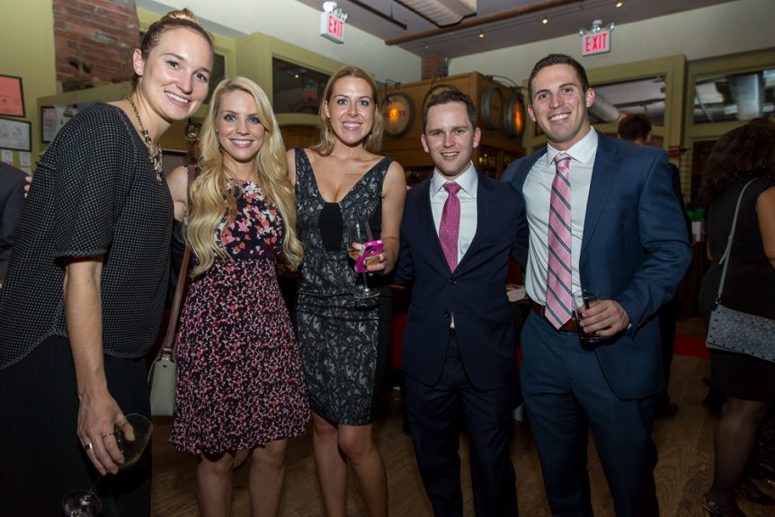 Leadership Council members at The Family Center's 20th Anniversary Gala