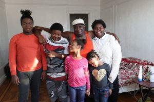 Ms. Parker and her grandchildren, courtesy of Michelle V. Agins and the New York Times