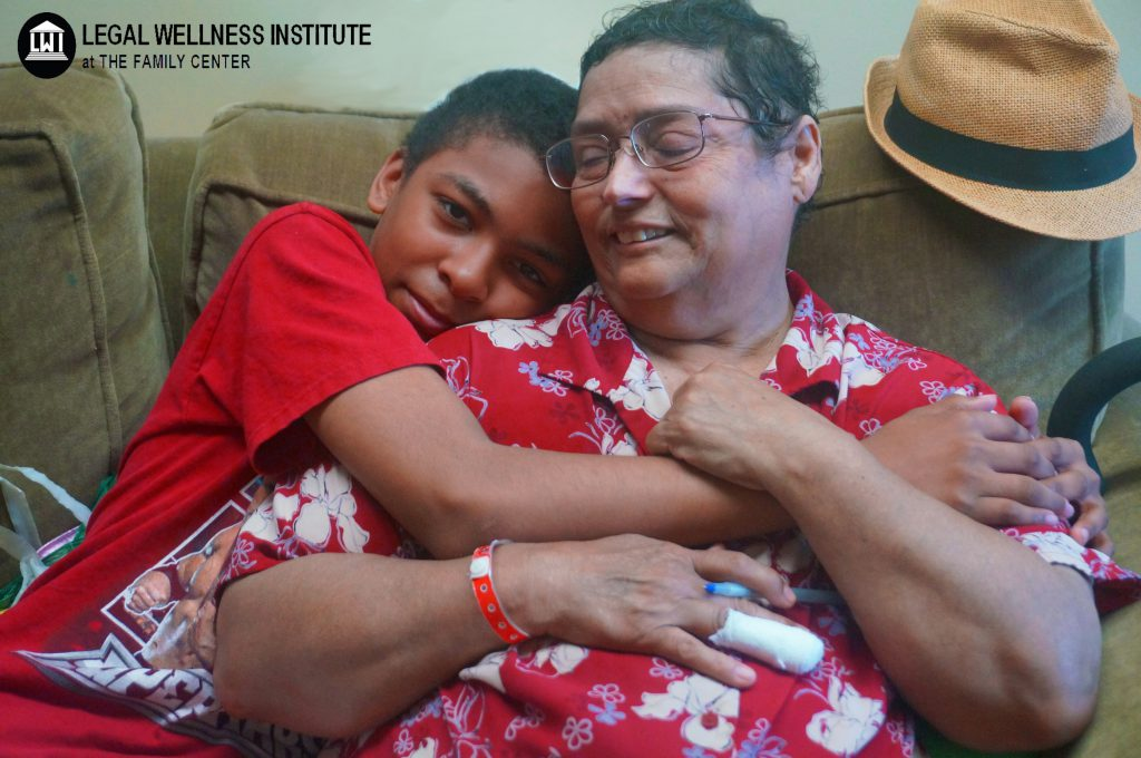 Celestina is a cancer survivor who is raising her grandson.