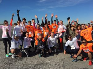 All of Team TFC Gives it up for the JFK Runway Run
